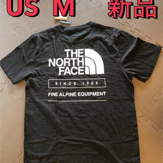 THE NORTH FACE - 新品 ノースフェイス メンズTシャツ M 限定 ハーフドームロゴ 黒