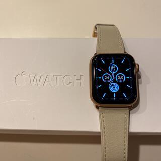 アップル(Apple)のApple Watch 5 Cellular 40mm バッテリー96% 美品(その他)