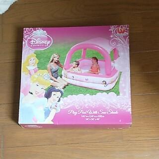 Disney - 新品 プリンセスサンシェード プール