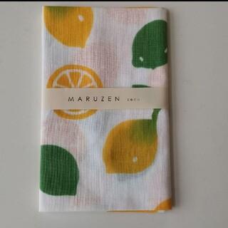 かまわぬ レモン 手ぬぐい 手拭い 丸善 ハンカチ 和たおる フルーツ てぬぐい