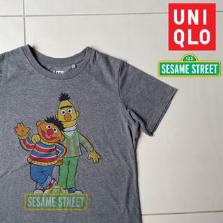 セサミストリート(SESAME STREET)のセサミストリート アニー バート ユニクロ Tシャツ(Tシャツ(半袖/袖なし))