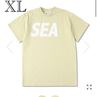 SEA - wind and sea Tシャツ / PARCHMENT-WHITE