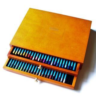ダーウェント 色鉛筆 46色セット 木箱入り 処分(色鉛筆)