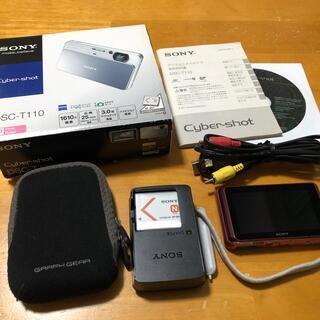 SONY - カメラ SONY Cyber-shot DSC-T110 ピンク