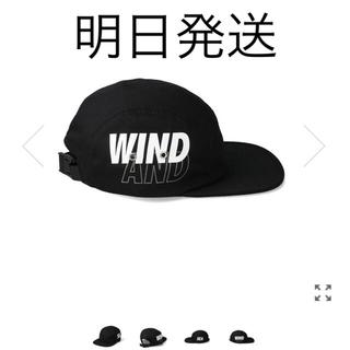 シー(SEA)のwindandsea CAMP CAP / BLACK (キャップ)