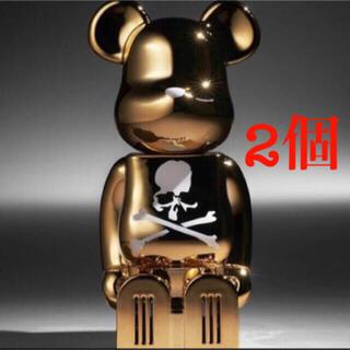 マスターマインドジャパン(mastermind JAPAN)のcleverin BE@RBRICK mastermind JAPAN 2個(フィギュア)