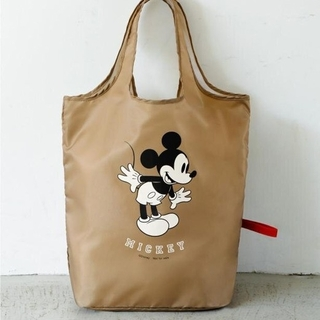 ミッキーマウス(ミッキーマウス)のミッキー でかエコバッグ レタスクラブ 付録 トート(エコバッグ)
