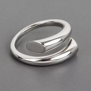 アメリヴィンテージ(Ameri VINTAGE)の大人気なため再入荷!tear drop ring silver925(リング(指輪))