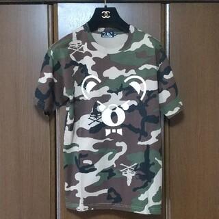 ヒステリックグラマー(HYSTERIC GLAMOUR)のヒステリックグラマー🌟ベアカモフラ(Tシャツ/カットソー(半袖/袖なし))