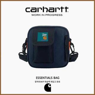 carhartt - カーハート carhartt  X Pattaショルダーバッグ  ネイビー