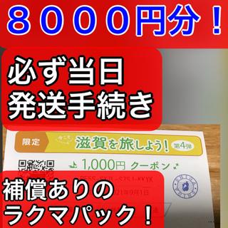 【限定券】今こそ滋賀を旅しよう【しが周遊クーポン】(その他)