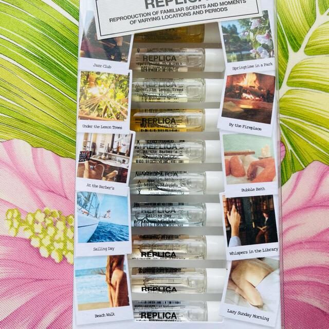 Maison Martin Margiela(マルタンマルジェラ)のレプリカ ディスカバリー 香水 セット メモリーボックス 10種類 x 2ml コスメ/美容の香水(ユニセックス)の商品写真
