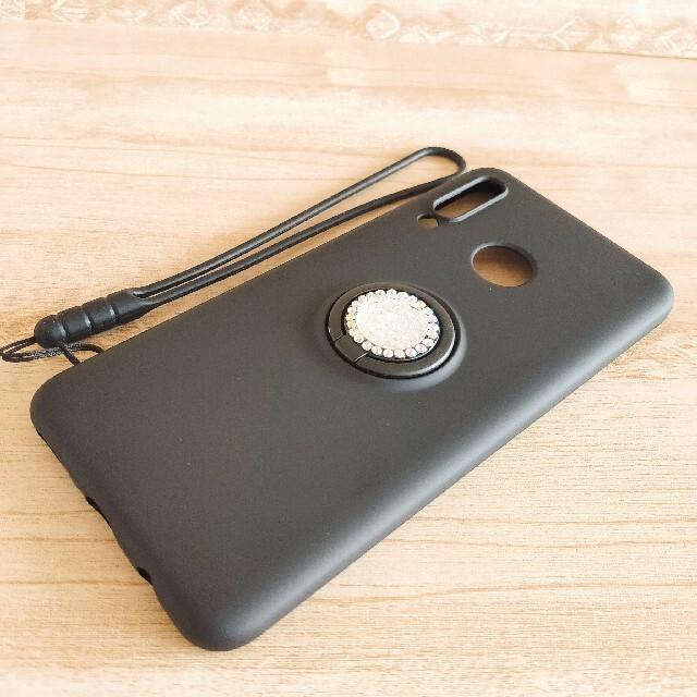 HUAWEI P30 Lite スマホケース ビジューリング ブラック スマホ/家電/カメラのスマホアクセサリー(Androidケース)の商品写真
