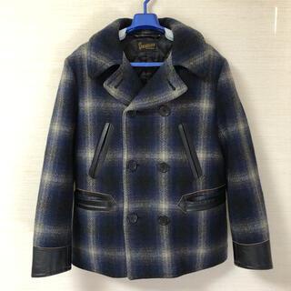 TENDERLOIN - 09AW Sサイズ テンダーロイン チェック Pコート ジャケット キムタク着