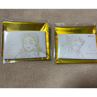 集英社 - 鬼滅の刃 無限列車 最終上映記念 原画コレクション スクエア缶バッジ 煉獄杏寿郎