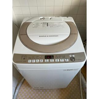 SHARP - 136 SHARP 7Kg洗濯機 ES-KS70R 2016年製