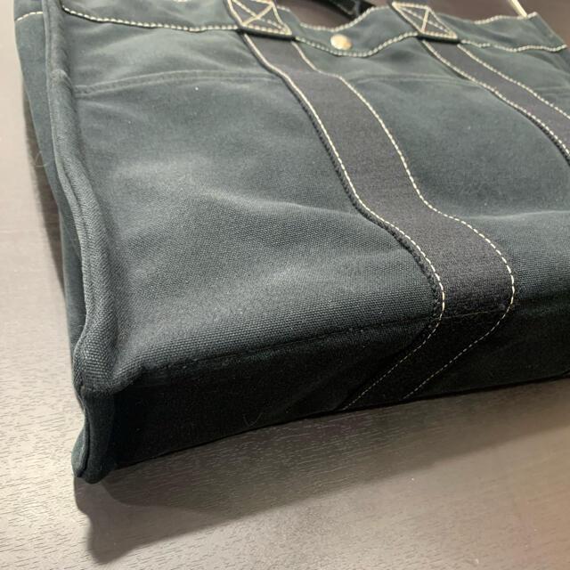 Hermes(エルメス)の良品 定価6.7万 エルメス ドーヴィルMM トート バッグ ブラック レディースのバッグ(トートバッグ)の商品写真