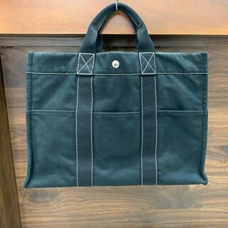 Hermes - 良品 定価6.7万 エルメス ドーヴィルMM トート バッグ ブラック