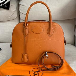 Hermes - エルメス ボリード 31 オレンジ シェーブル ハンド バッグ ショルダー