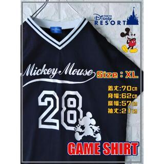 Disney - TOKYOディズニー限定 ミッキー ゆるだぼ ゲームシャツ SS2136
