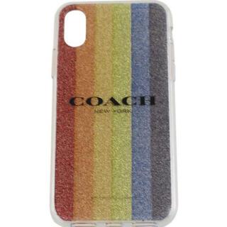 COACH - 新品 コーチ COACH スマホケース iPhone X 対応 f68640