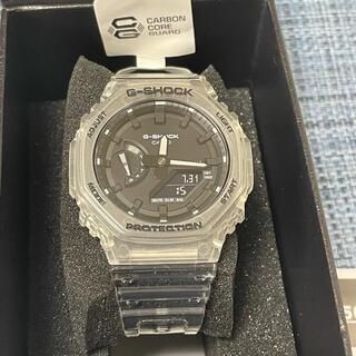 ジーショック(G-SHOCK)の【新品同等品・保証書付】GA-2100SKE-7AJF カシオーク 保証書付(腕時計(アナログ))