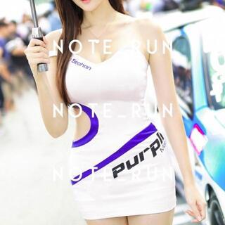 【xpu】コスチューム RQ レースクイーン 衣装 白・青(衣装一式)