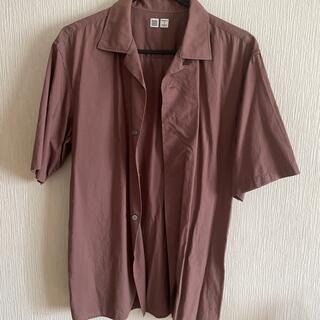 UNIQLO - オープンカラーシャツ