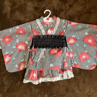 ニシマツヤ(西松屋)の3点セット 浴衣 110㎝(甚平/浴衣)