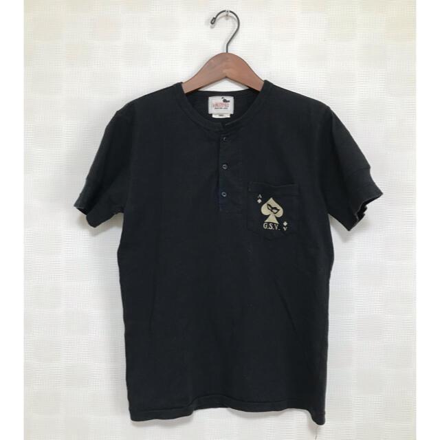 RUDE GALLERY(ルードギャラリー)のTHUG CAT HENRY POCKET S/S T-SHIRTS メンズのトップス(Tシャツ/カットソー(半袖/袖なし))の商品写真