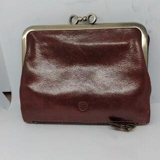 Dakota - 【正規品】ダコタ Dakota 2つ折り財布 レザー ボルドー がま口 折財布
