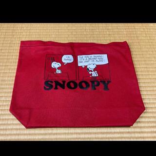 SNOOPY - スヌーピー トートバッグ 赤
