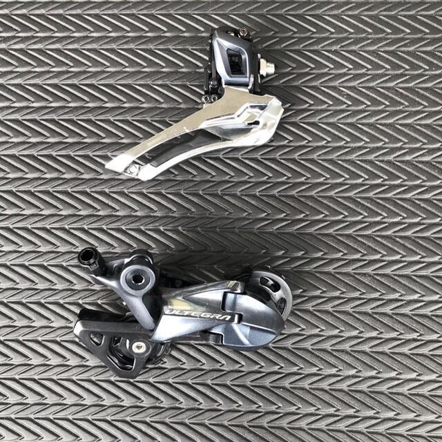 SHIMANO(シマノ)のシマノアルテグラ RD-R8000SSとFD-R8000のセット スポーツ/アウトドアの自転車(パーツ)の商品写真
