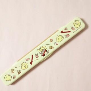 ポムポムプリン(ポムポムプリン)のポムポムプリン・お箸セット(弁当用品)