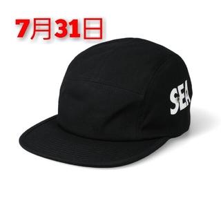 SEA - SEA (INITIAL) CAMP CAP / BLACK