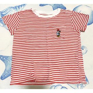 ユニクロ(UNIQLO)のミニーTシャツ(Tシャツ/カットソー)