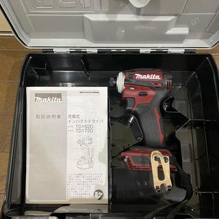 マキタ(Makita)のマキタ インパクトドライバー TD172D オーセンティックレッド新品未使用品!(工具)