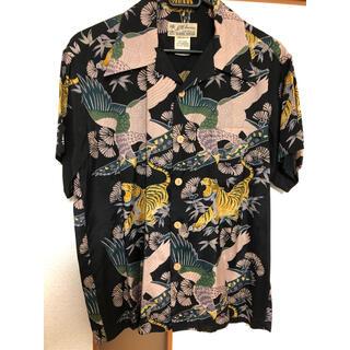 WACKO MARIA - デッドストック品 鶴 松 虎 柄 ビンテージアロハシャツ