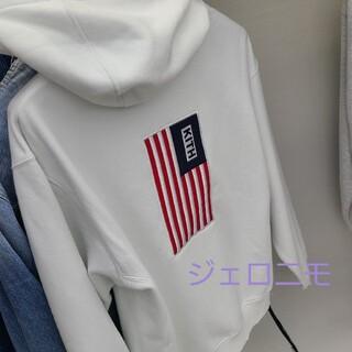 KITH USA BOX LOGO HOODIE ボックスロゴ