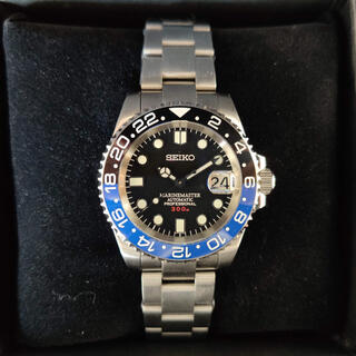SEIKO - 300M防水「MM300 GMTカスタム•バットマン」自動巻腕時計