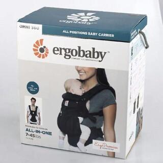 Ergobaby - エルゴ 抱っこ紐 エルゴベビー オムニ360 クールエア メッシュ/ブラック