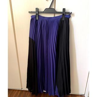 グレースコンチネンタル(GRACE CONTINENTAL)のプリーツスカート(ひざ丈スカート)