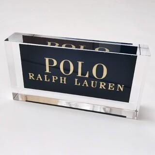 Ralph Lauren - RALPH LAUREN オブジェ 店頭展示用 置物 ロゴプレート アクリル