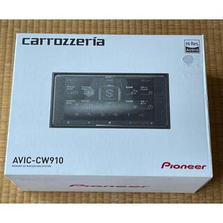 パイオニア(Pioneer)の新品未使用品 カロッツエリア サイバーナビ AVIC-CW910(カーナビ/カーテレビ)