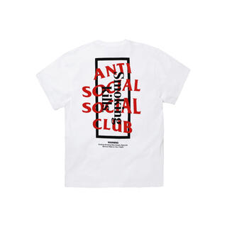 アンチ(ANTI)のFR2 ANTI SOCIAL SOCIAL CLUB ホワイト XLサイズ(Tシャツ/カットソー(半袖/袖なし))