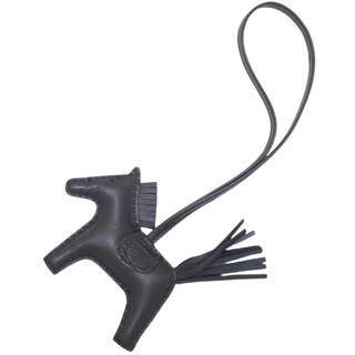 エルメス(Hermes)のエルメス ロデオチャーム PM アニョーミロ ブラック黒 40802000700(キーホルダー)