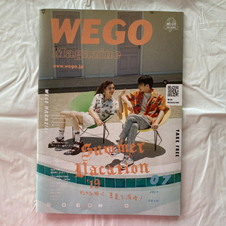 ウィゴー(WEGO)のWEGO Magazine 2019年7月号(ファッション)