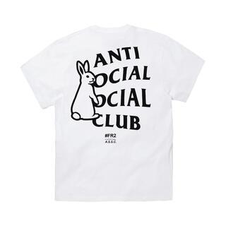 アンチ(ANTI)のFR2 ANTI SOCIAL SOCIAL CLUB XLサイズ ホワイト(Tシャツ/カットソー(半袖/袖なし))