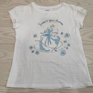 ユニクロ(UNIQLO)のユニクロ キッズ Tシャツ 130 ディズニー シンデレラ(Tシャツ/カットソー)