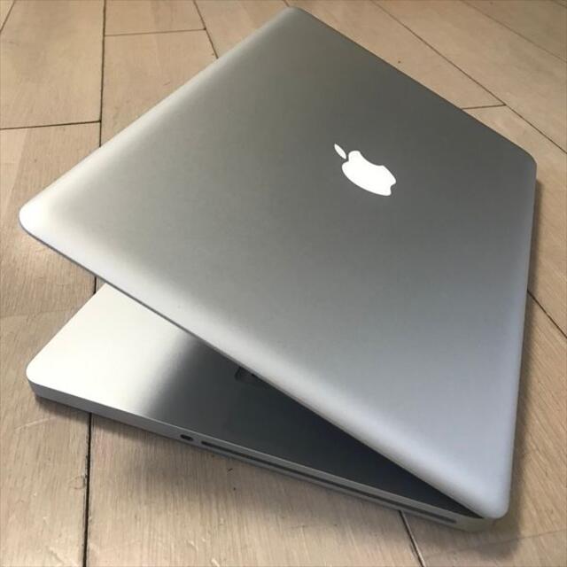 Apple(アップル)の期間限定 SSD 240GB MacBook Pro 15インチ(26 スマホ/家電/カメラのPC/タブレット(ノートPC)の商品写真